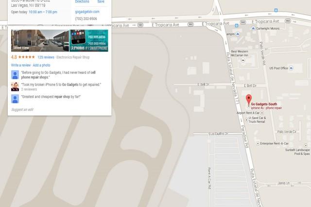 Go Gadgets Las Vegas-Paradise Road Location